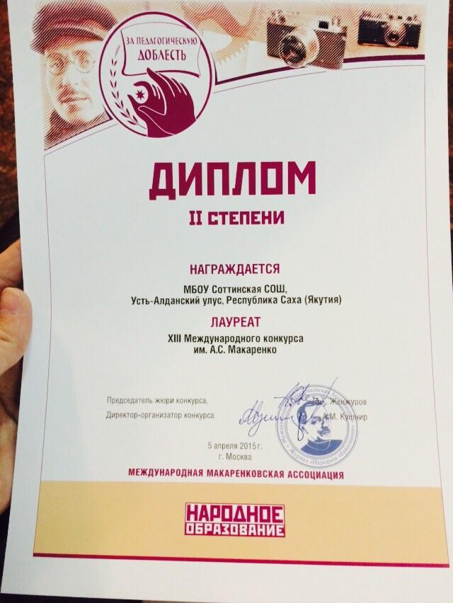 Международный конкурс им асмакаренко